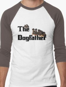 The Dog Father - Rottweiler Litter Men's Baseball ¾ T-Shirt
