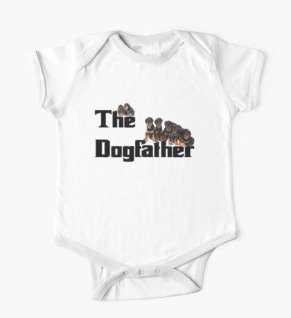 The Dog Father - Rottweiler Litter One Piece - Short Sleeve