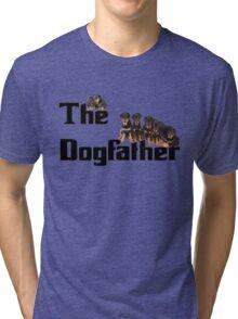 The Dog Father - Rottweiler Litter Tri-blend T-Shirt