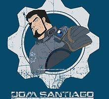 Gears of  War Dom Santiago by iiincomiing