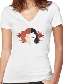 Liars and Killers Women's Fitted V-Neck T-Shirt