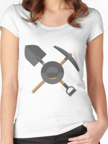 Pick, Shovel, & Pan Women's Fitted Scoop T-Shirt