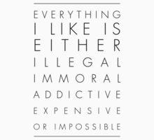 EVERYTHING I LIKE by Kos Bar