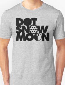 Dot Snow Moon (Black Text) T-Shirt