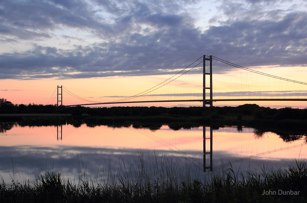 Humber Bridge Dawn by John Dunbar