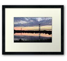 Humber Bridge Dawn Framed Print
