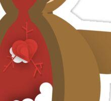 Cross Section: Teddy Bear Sticker