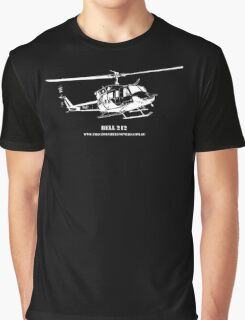 Bell 212 Helicopter Graphic T-Shirt