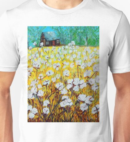 Cotton Fields Back Home Unisex T-Shirt