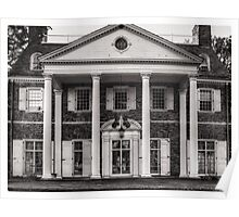 Hayfield House (Front View) June 2012 Poster