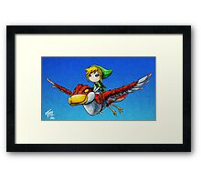 A Loftwing Adventure Framed Print