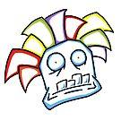 Retro Tiki Mask by DomCowles12
