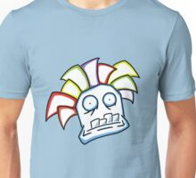 Retro Tiki Mask Unisex T-Shirt