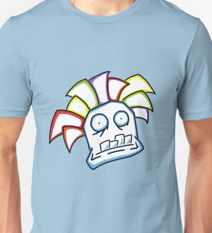 Retro Tiki Mask Unisex T-Shirt