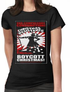 Christmas Resistance Womens Fitted T-Shirt
