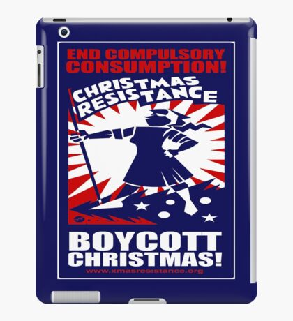 Christmas Resistance iPad Case/Skin