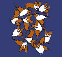 Crazeee Corgiiiis Unisex T-Shirt