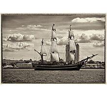 The Bounty Sails Again Photographic Print