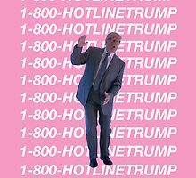 Hotline Trump by NdogoDesign