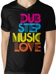 Dubstep Music Love Mens V-Neck T-Shirt