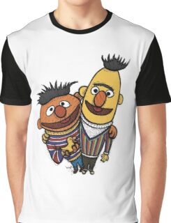 Bert And Ernie Graphic T-Shirt