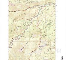 USGS Topo Map Washington State WA Old Scab Mountain 242932 2000 24000 by wetdryvac