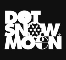 Dot Snow Moon (White Text) by Eozen