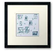Fairy tale Apartment Framed Print