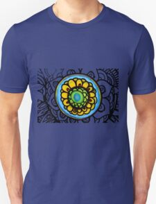 Colorful Floral Pattern T-Shirt