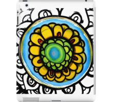 Colorful Floral Pattern iPad Case/Skin