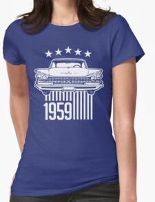 1959 Buick illustration Womens Fitted T-Shirt