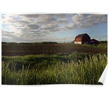Canadian Farm Poster