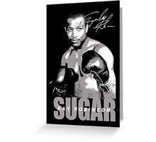 sugar ray robinson Greeting Card