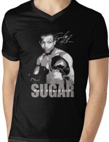 sugar ray robinson Mens V-Neck T-Shirt