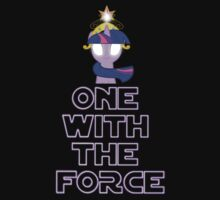 One with the force [twilight sparkle] [purple text] by wittlewoona