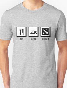 eat, sleep, dota 2 (defense of the ancient) T-Shirt