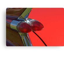 Cadillac Fleetwood Tailfins.  Canvas Print