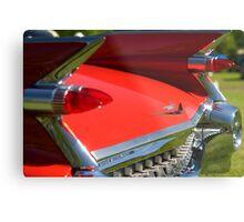 Cadillac Fleetwood Tailfins.  Metal Print
