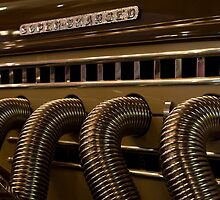 Exhaust pipes. by Mark  Spowart