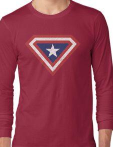 Supercaptain (Vintage Edition) Long Sleeve T-Shirt