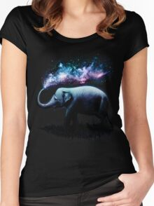 Elephant Splash Women's Fitted Scoop T-Shirt