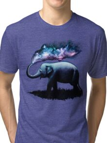 Elephant Splash Tri-blend T-Shirt