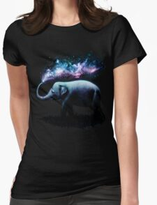 Elephant Splash Womens Fitted T-Shirt