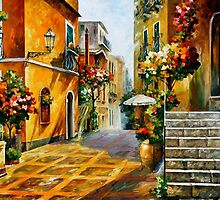 THE SUN OF SICILY - OIL PAINTING BY LEONID AFREMOV by Leonid  Afremov