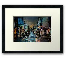 Wet Morning in Kemp Town Framed Print