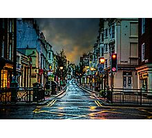Wet Morning in Kemp Town Photographic Print