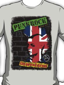 Punkrock - Union jack mohawk T-Shirt