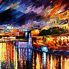 NAPLES - VESUVIUS - OIL PAINTING BY LEONID AFREMOV by Leonid  Afremov