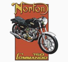 Norton Commando 750 by Steve Harvey