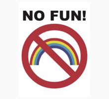 NO FUN - Sticker by Bela-Manson